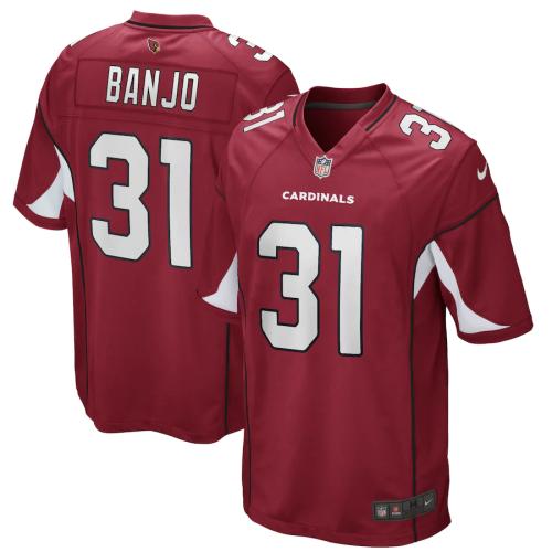 Men's Chris Banjo Cardinal Game Player Team Jersey