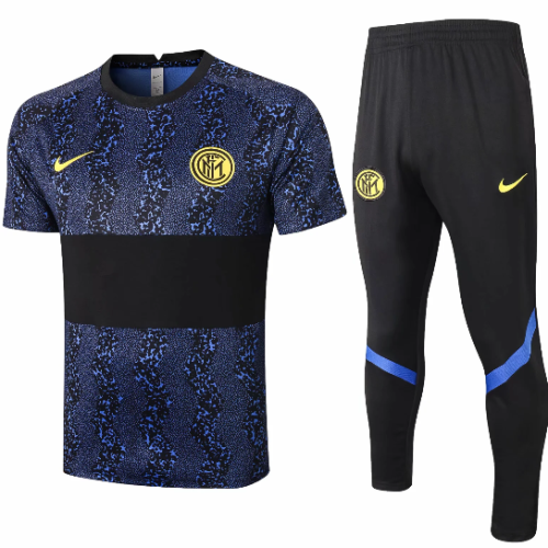 Inter Milan 20/21 Training Jersey And Pants - #C553