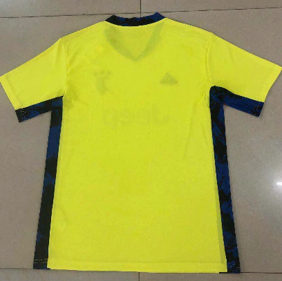 Thai Version Juventus 20/21 Goalkeeper Soccer Jersey-Yellow