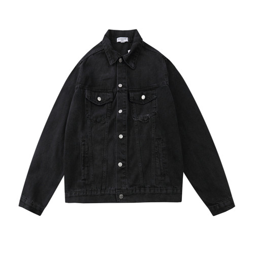 2020 Fall Luxury Brands Denim Jacket Black