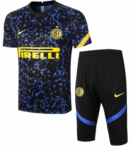 Inter Milan 20/21 Training Jersey and Short Kit - #D297