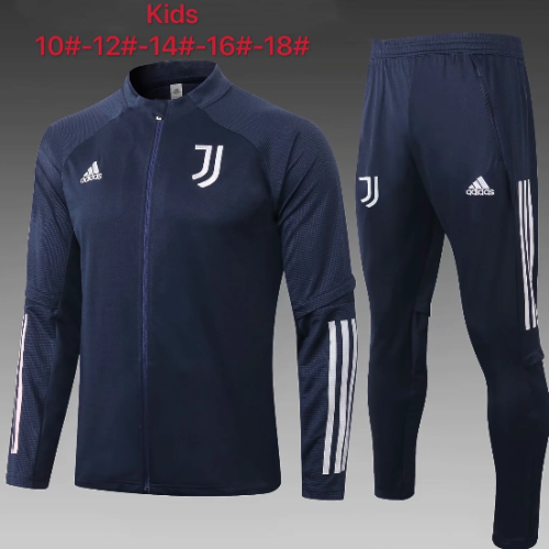 Juventus 20/21 Kids Jacket and Pants Navy - #E487
