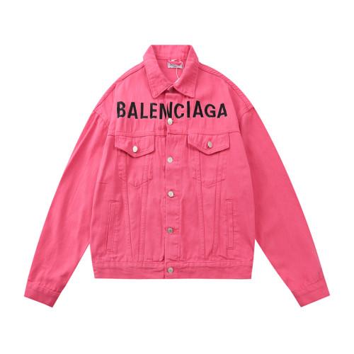 2020 Fall Luxury Brands Denim Jacket Pink