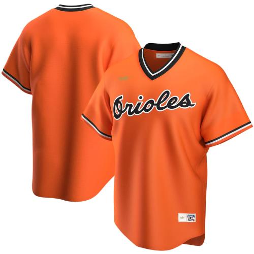 Men's Orange Alternate Cooperstown Collection Team Jersey