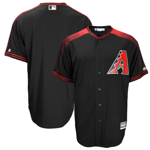 Men's Alternate Black cool Base Replica Team Jersey