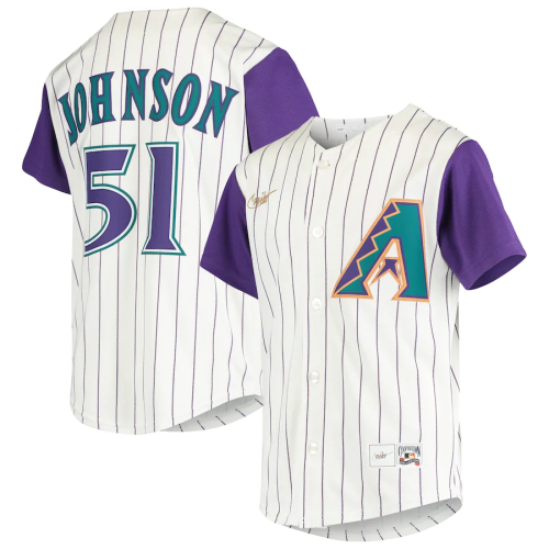 Youth Randy Johnson Cream Alternate Cooperstown Collection Player Jersey