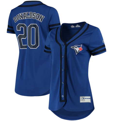 Women's Josh Donaldson Royal Navy Absolute Victory Fashion Player Jersey