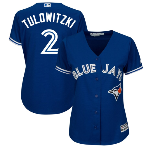 Women's Troy Tulowitzki Royal Alternate Cool Base Player Jersey