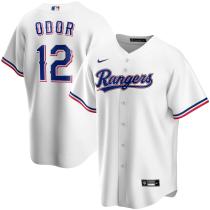 Men's Rougned Odor White Home 2020 Replica Player Jersey