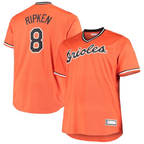 Men's Cal Ripken Jr. Orange Alternate Cooperstown Collection Replica Player Jersey
