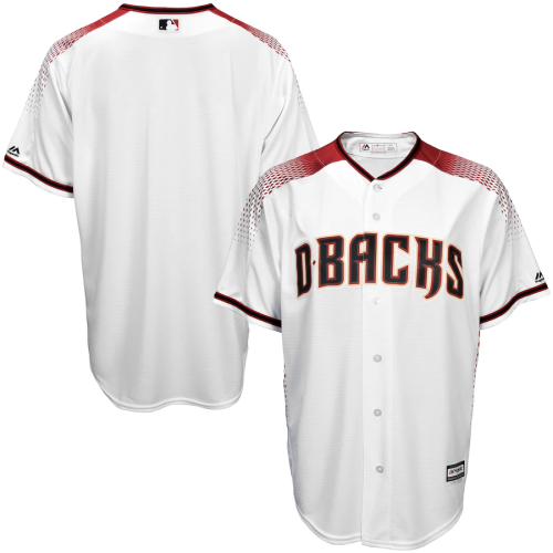Youth White Sedona Red Home Offical Cool Base Jersey