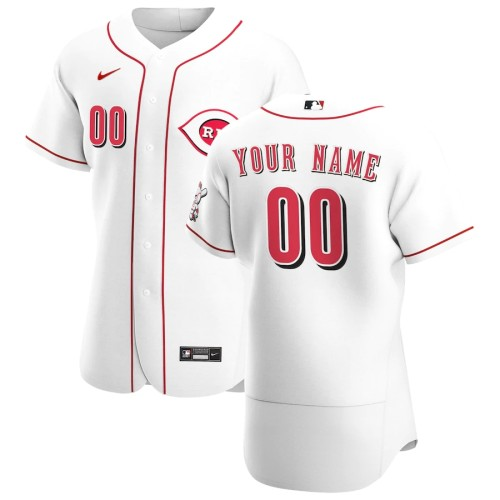 Men's White 2020 Home Authentic Custom Jersey