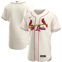 Men's Cream Alternate 2020 Authentic Team Jersey