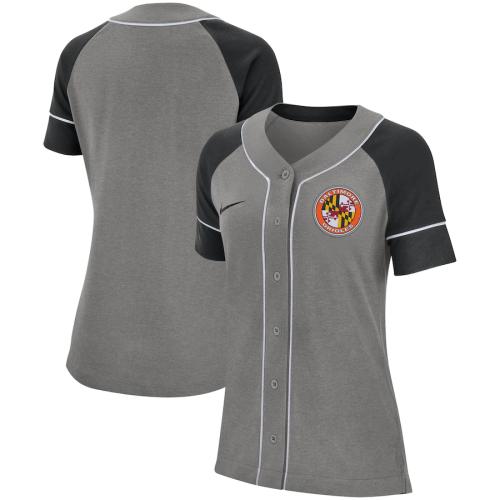 Women's Gray Classic Baseball Jersey