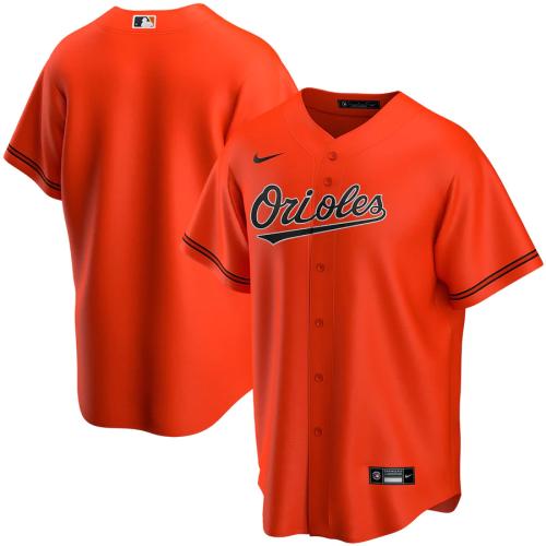 Men's Orange Alternate 2020 Replica Team Jersey