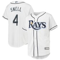 Youth Blake Snell White Replica Player Jersey