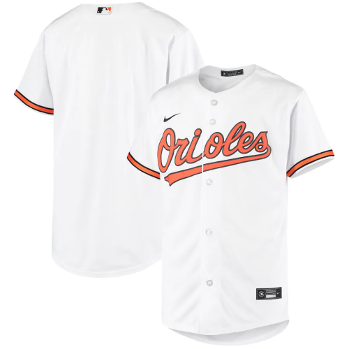 Youth White Home 2020 Replica Team Jersey