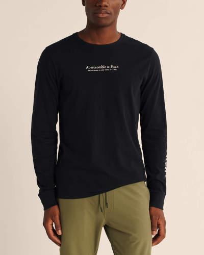 Men's Fashion Brands 2020 Fall Long Sleeve Tee AF033