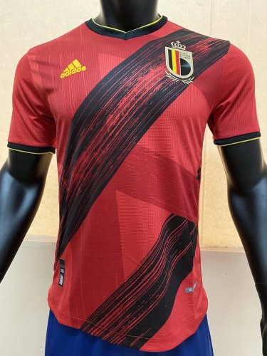 Player Version Belgium 2020 Home Authentic Jersey
