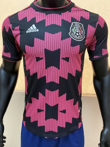 Player Version Mexico 2020 Home Authentic Jersey