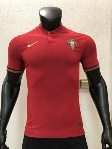 Player Version Portugal 2020 Home Authentic Jersey