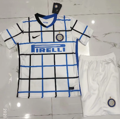 Inter Milan 20/21 Away Soccer Jersey and Short Kit