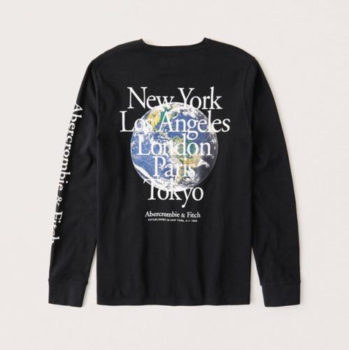 Men's Fashion Brands 2020 Fall Long Sleeve Tee AF031