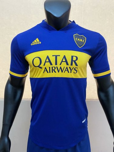 Player Version Boca Juniors 20/21 Home Authentic Jersey
