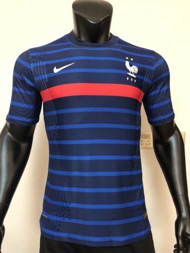 Player Version France 2020 Home Authentic Jersey