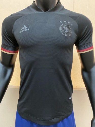 Player Version Germany 2020 Away Authentic Jersey