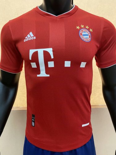 Player Version Bayern 20/21 Home Authentic Jersey