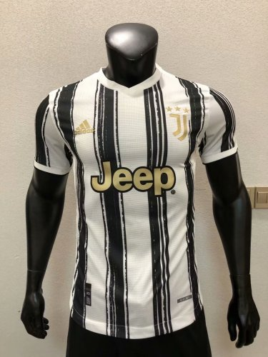 Player Version Juventus 20/21 Home Authentic Jersey