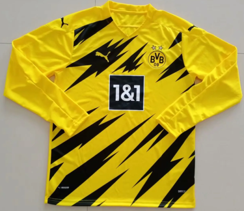 Thai Version Borussia Dortmund 20/21 LS Home Soccer Jersey