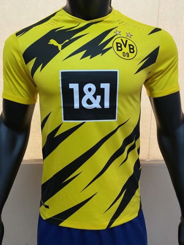 Player Version Borussia Dortmund 20/21 Home Authentic Jersey