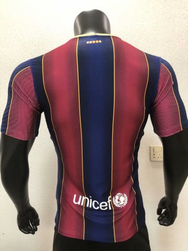 Player Version Barcelona 20/21 Home Authentic Jersey