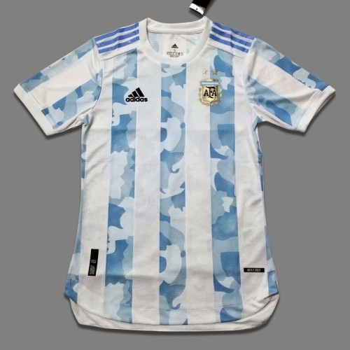 Player Version Argentina 2020 Home Authentic Jersey