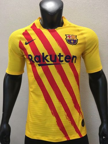 Player Version Barcelona 19/20 Fourth Authentic Jersey