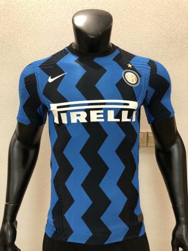 Player Version Inter Milan 20/21 Home Authentic Jersey