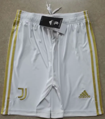 Thai Version Juventus 20/21 Home Soccer Shorts