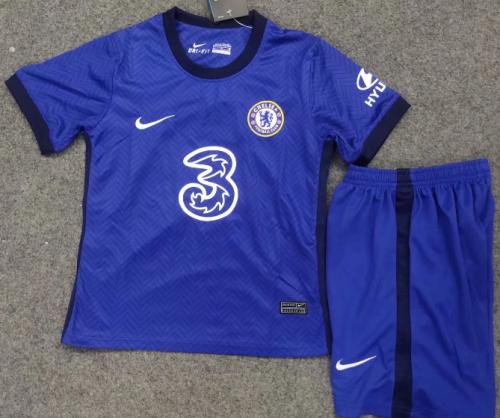 Chelsea 20/21 Kids Home Soccer Jersey and Short Kit