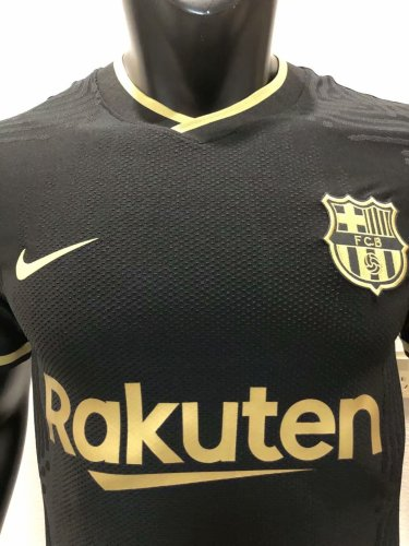 Player Version Barcelona 20/21 Away Authentic Jersey