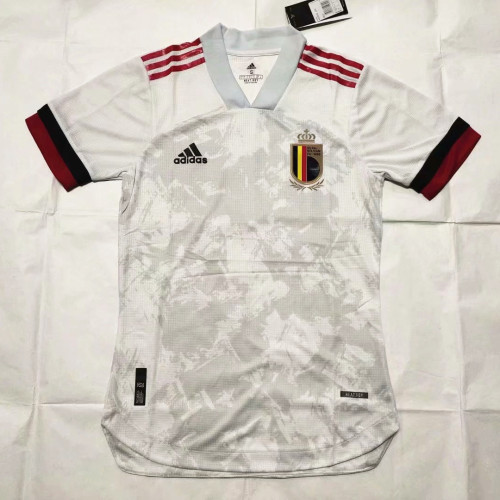 Player Version Belgium 2020 Away Authentic Jersey