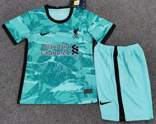 Liverpool 20/21 Kids Away Soccer Jersey and Short Kit