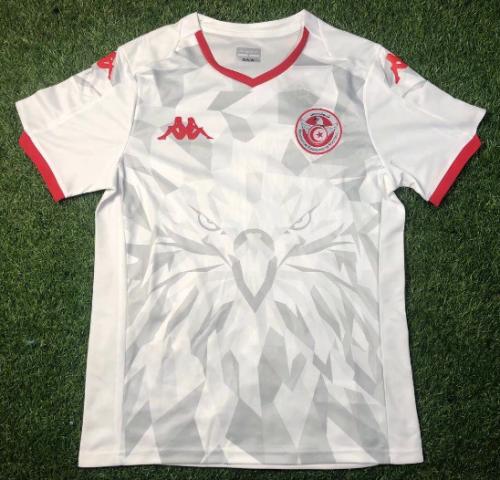 Thai Version Tunisia 20/21 Away Soccer Jersey