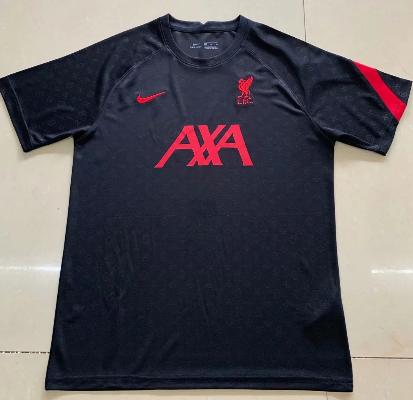 Thai Version Liverpool 20/21 Training Jersey-Black