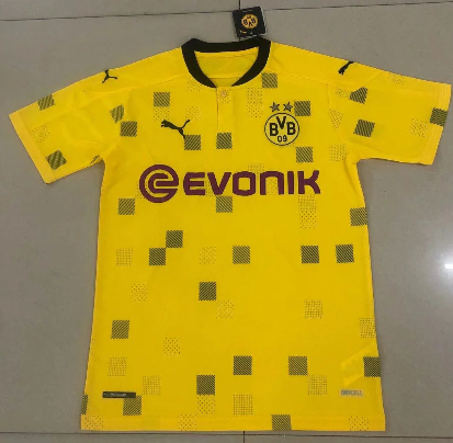 Thai Version Borussia Dortmund 20/21 UEFA Champions League Soccer Jersey