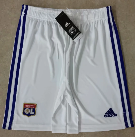 Thai Version Olympique Lyonnais 20/21 Home Soccer Shorts