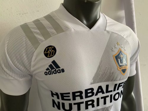 Player Version Los Angeles Galaxy 20/21 Home Authentic Jersey With KB Patch