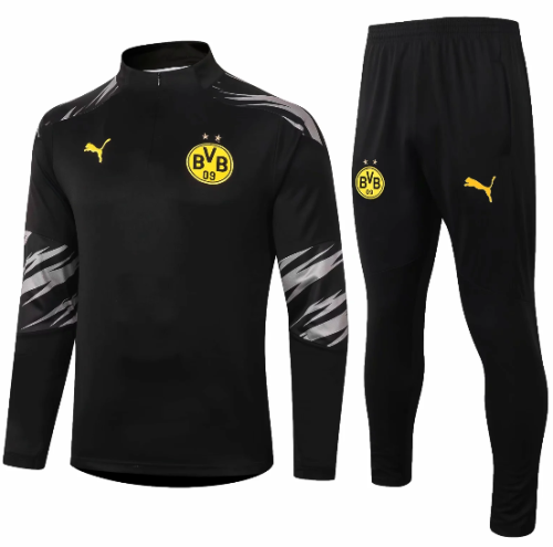 Borussia Dortmund 20/21 Soccer Training Top and Pants-#B424