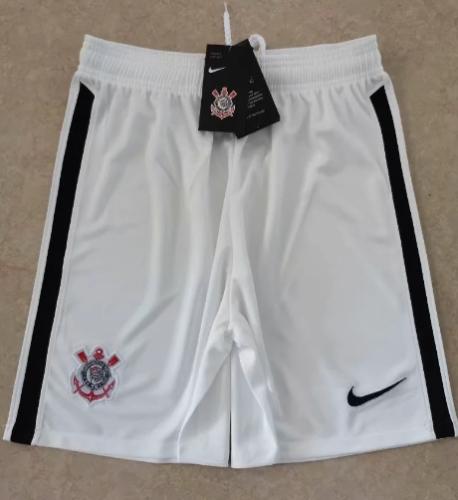 Thai Version Corinthians 20/21 Away Soccer Shorts